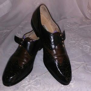 80's Enzo Anglioni Wingtip Loafers